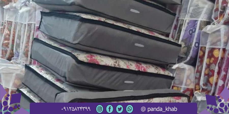 خرید تشک یک نفره ارزان مسافرتی از تولیدی پاندا